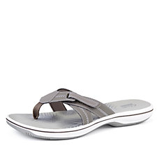 Clarks Brinkley Calm Toe Thong Sandal