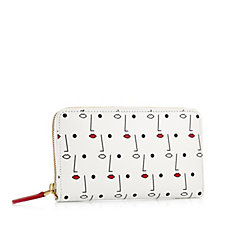 Lulu Guiness Two Face Print Small Izzy Bag