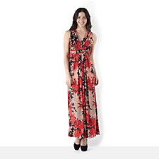 Fashion by Together Summer Bloom Print Maxi Dress