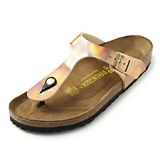 Birkenstock Gizeh Mirrored Metallic Toe Post Sandal