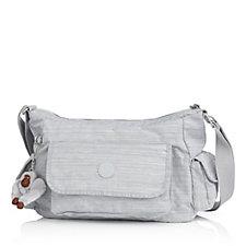 Kipling Priska Medium Zip Top Shoulder Bag with Front & Side Pockets