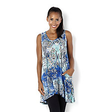 Join Clothes Printed Sleeveless Top
