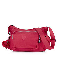 Kipling Laisha Medium Zip Top Crossbody Bag with Front Zip Pocket