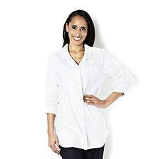 Kim & Co Stretch Denim 3/4 Sleeve Shirt
