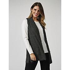 Kim & Co Eyelash Knit Waistcoat