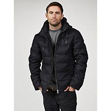 Rino & Pelle Men's Puffer Hooded Jacket