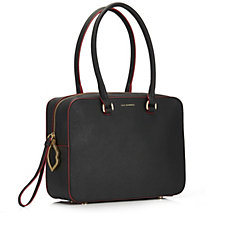 Lulu Guinness Jenni Saffiano Leather Tote Bag