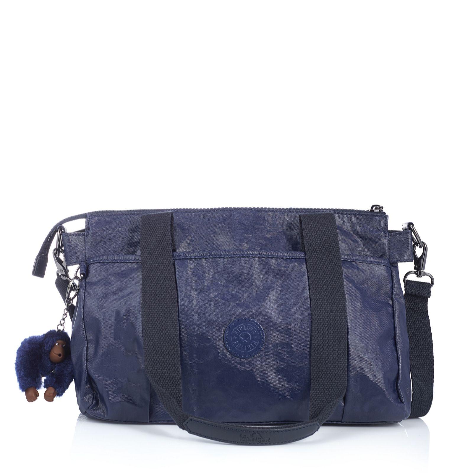 3410752a00e3 ... Black Friday Michael Kors Stockard Shoulder Medium Brown Satchels Deals  Kipling Divna Premium Medium Zip Top Double Handled Shoulder Bag - 160933  ...