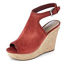 Marc Fisher Harli Wedge Peep Toe Shoe