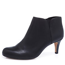 Clarks Arista Paige Ankle Bootie with Side Zip