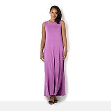 Join Clothes Drape Pocket Sleeveless Maxi Dress