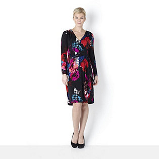 Withsleeves By Lesley Ebbetts Detail Floral Check Print