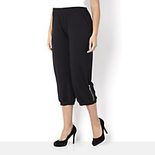 Yong Kim Modal Loose Fit Zip Trim Trousers