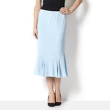 Jersey Frill Hem Skirt by Michele Hope