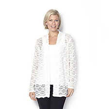 Shell Crochet Cardigan by Michele Hope