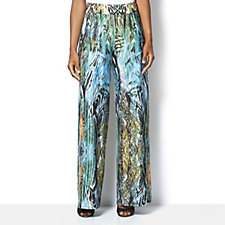 Attitudes by Renee Feather Print Jersey Trousers