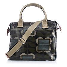Orla Kiely Climbing Stem Zip Messenger Bag