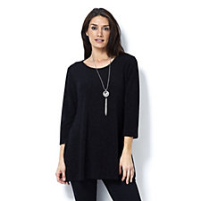 Grace Glitter Tunic with Necklace