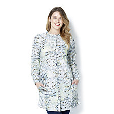 Fashion by Together Long Printed Button Through Shirt