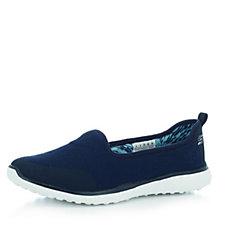 Skechers Microburst It's My Life Knit Mesh Slip On Shoe