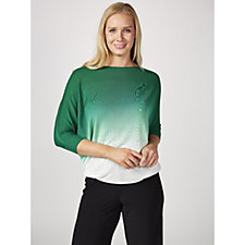 173634 - Phase Eight Becca Dip Dye Top