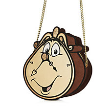 Danielle Nicole Disney Beauty and the Beast Cogsworth Crossbody Bag