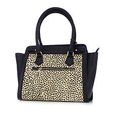 Ashwood Two Tone Leather Shopper Bag