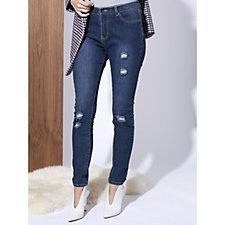 Nouveaux Skinny Distressed Jeans
