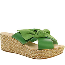 Adesso Poppy Knot Wedge Sandal