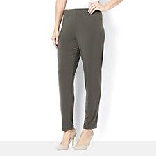 135336 - Kim & Co Brazil Knit Elastic Waist Narrow Leg Trouser