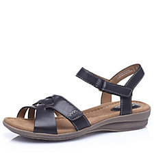 143036 - Clarks Reid Laguna Leather Sandal