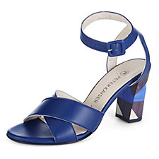 Peter Kaiser Karima Sandal with Patterned Heel