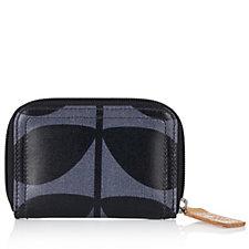 Orla Kiely Solid Stem Medium Zip Wallet