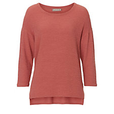 Betty & Co Textured 3/4 Sleeve Top