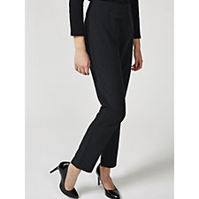 Ruth Langsford Stretch Trousers with Side Zip Petite