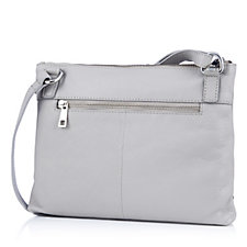 Amanda Lamb Leather Crossbody Bag