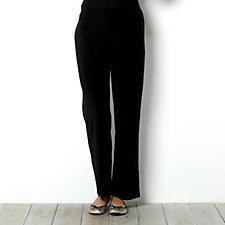 Jersey Trouser with Elasticated Flat Waistband by Nina Leonard