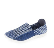 Adesso Jake Stretch Weave Mens Slip on Shoe