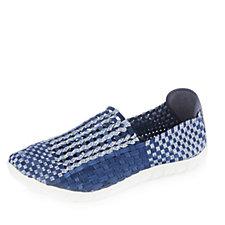 158037 - Adesso Jake Stretch Weave Mens Slip on Shoe