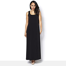 159137 - Kim & Co Printed Brazil Knit Long Length Maxi Dress