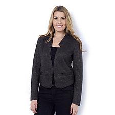 C. Wonder Tweed Knit Jacket