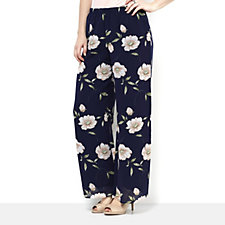 Floral Printed Palazzo Trousers by Michele Hope