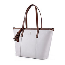 Ashwood Tassel Leather Shopper Bag