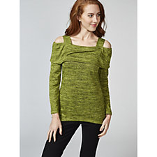 Mr Max Topaz Knit Cold Shoulder Tunic