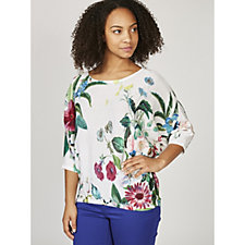 173637 - Phase Eight Bronte Botanical Print Knit Top