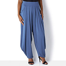 Join Clothes Pleat Front Drape Trousers