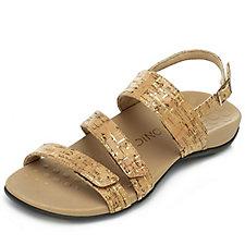 Vionic Orthotic Tegan Adjustable Strap Sandal with FMT Technology