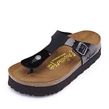 Papillio by Birkenstock Gizeh Patent Toe Post Sandal Wide Fit