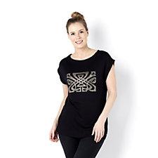 Biba Stud Logo T-Shirt
