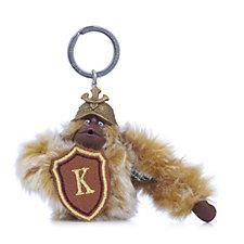Kipling Warrior Monkey Keyring